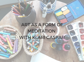 2) 5th Oct, 6-7PM BST, Art as a Form of Meditation