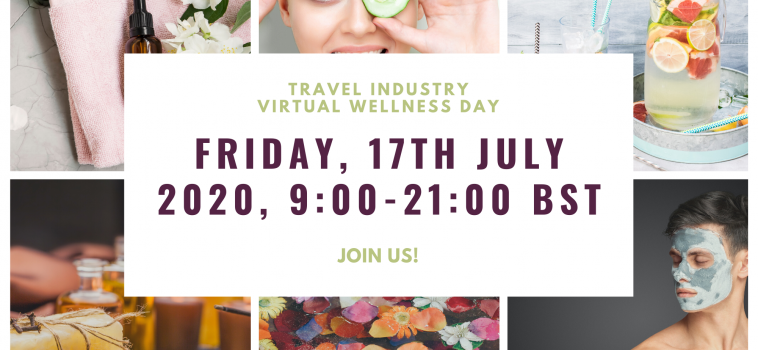 Join our Travel Industry Virtual Wellness Day!