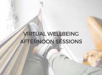 1) 1st & 4th Oct, Virtual Wellbeing Afternoon Sessions