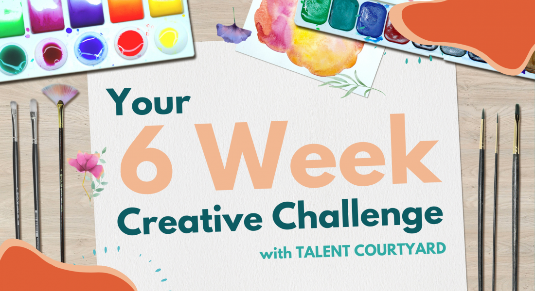 Get Creative with our 6-Week Wellbeing Challenge!