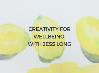4) 19th Oct, 6-7PM BST, Creativity for Wellbeing